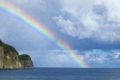 体調の乱れがわかる「虹占い」