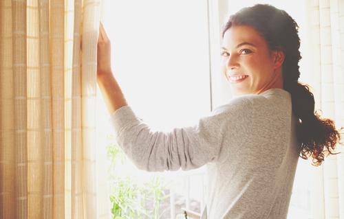 【お掃除風水】定期的にカーテンを洗って、外からのいい気を逃さない!