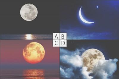 【心理テスト】イメージした月でわかる人生に対する安心度
