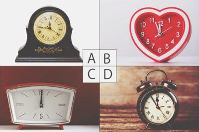 【心理テスト】朝、目の前にあった時計は? 答えでわかるあなたの憂鬱度