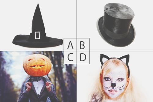 【心理テスト】ハロウィン仮装、被りたいものは? 答えでわかる「こんな人に見られたい願望」