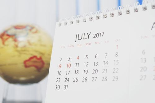 【7月の開運カレンダー】7月19日から「土用」入り、体調不良や金銭トラブルに要注意!