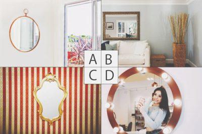 【心理テスト】部屋に飾りたい鏡でわかる、未来の自分の姿