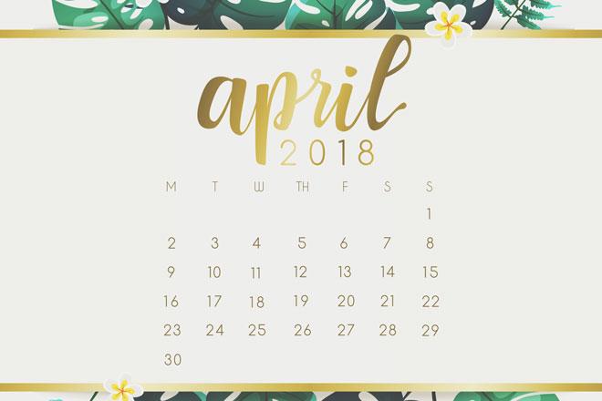 【4月の開運カレンダー】4月16日から計画をスタートさせると吉、ダイエットもオススメ!