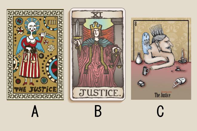 【タロット占い】選んだ「正義」のタロットカードでわかる、今のあなたへの忠告
