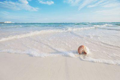 【9月の開運壁紙】恋愛運は「浜辺の白浜」写真で運気アップ!