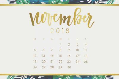 【11月の開運カレンダー】11月21日はパーティーが幸運を招く お誘いはのって吉!