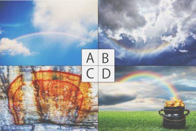 【心理テスト】選んだ虹の写真でわかる、あなたの恋の未来