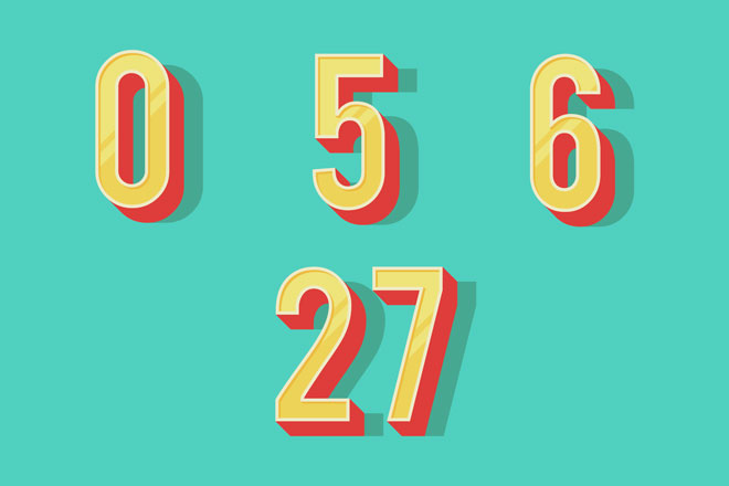 2019年のラッキーナンバーは「0」「5」「6」「27」、数字を意識して運気アップ!
