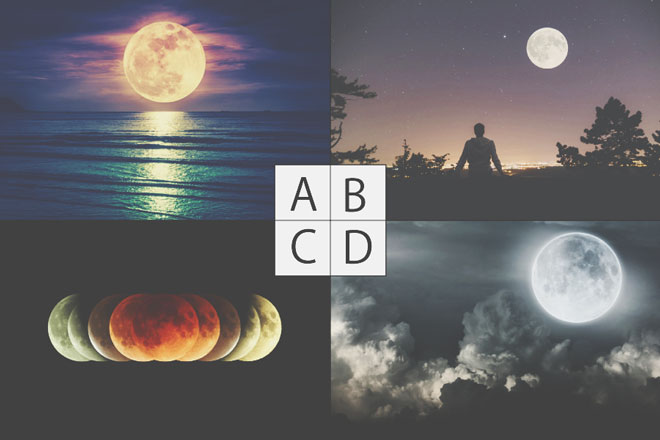 【心理テスト】「月の風景」好きなのはどれ? 答えでわかる選択に迷ったときの行動
