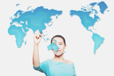 【心理テスト】世界地図の異変でわかる、あなたと周りとのずれ