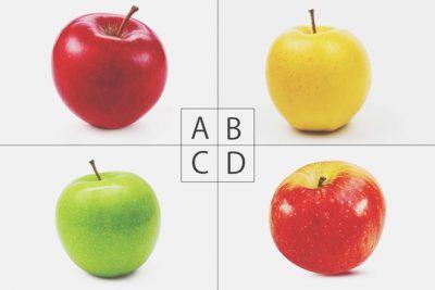 【心理テスト】頭のよくなるリンゴは? 答えでわかる浅知恵度