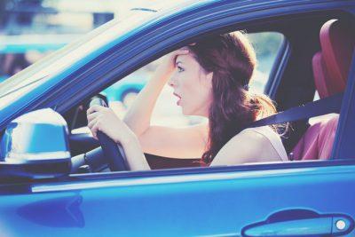 血液型【車の運転イラッと】あるある B型は予想外の渋滞!