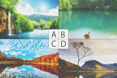 【心理テスト】選んだ湖はでわかる愛に対する考え方