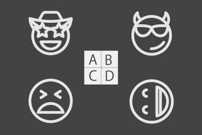 【心理テスト】あなたっぽい顔スタンプはどれ? 答えでわかる、ぴったりのキャラ変