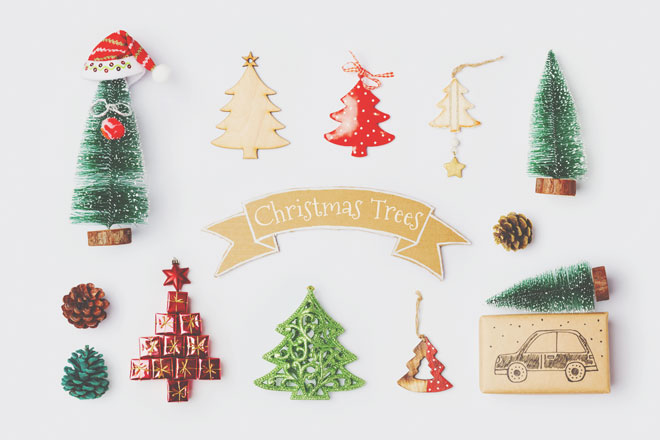クリスマスモチーフの開運パワー リースは永遠に続く愛、キャンドルは心の浄化!