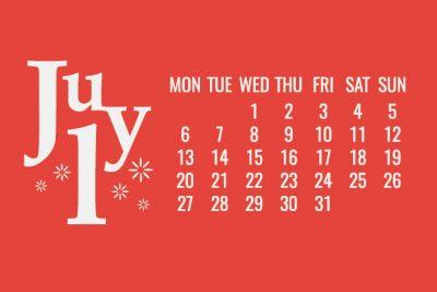 【7月の開運カレンダー】現状を変えたいなら7月17日が吉、新しいことにチャレンジしよう!