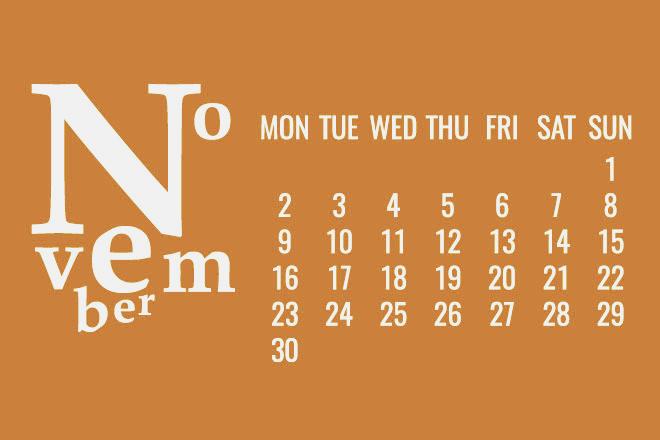 【11月の開運日カレンダー】11月17日は「甲子」と「天赦日」のW吉日、目標実現にぴったり!