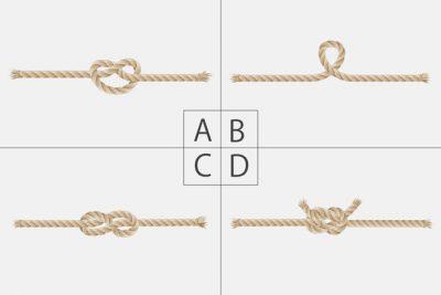 2人を結ぶロープは? 恋の発展性がわかる【心理テスト】