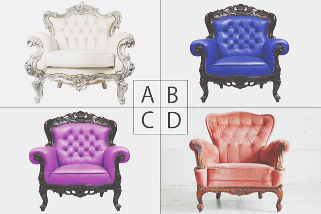 【心理テスト】男性が座っている椅子は何色? 答えでわかるあなたの運命の人