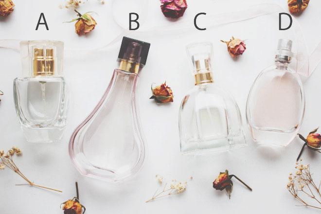 【心理テスト】香水を入れるならどのビンにする? 答えでわかる2020年に芽生える恋