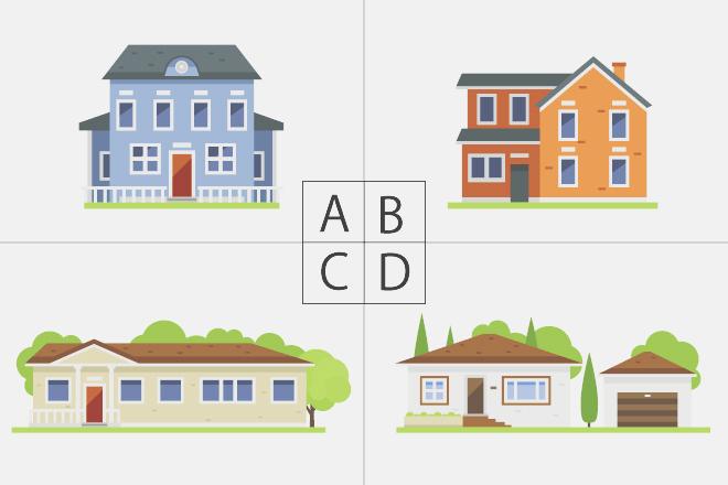 【心理テスト】住んでみたい家はどれ? 答えでわかる10年後のあなた