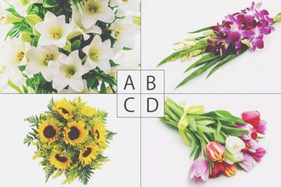 【心理テスト】贈られたい花束でわかる、将来のパートナーに望む関係性
