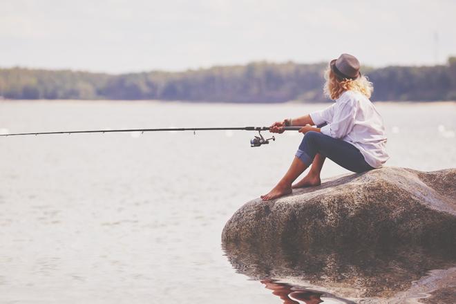 【心理テスト】釣りをするならどこに行く? 答えでわかるあなたがうれしいと思うこと
