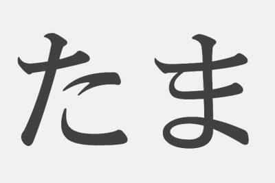 【漢字アプライ診断】「たま」といえばどの漢字?