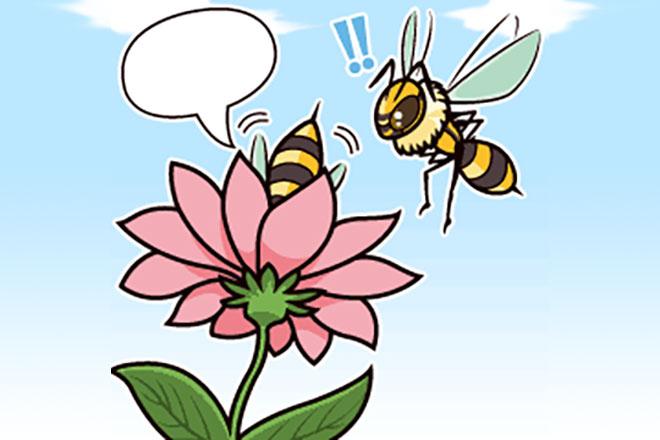 【心理テスト】この蜂はどんな状況? 答えでわかる、あなたの好奇心の強さ