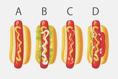 【心理テスト】食べたいホットドッグでわかる、あなたの求めているライフワーク