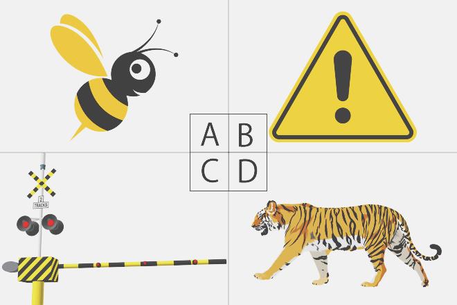 【色×コト占い】「黄色×黒」で連想したものは? 答えでわかる、あなたの攻撃性