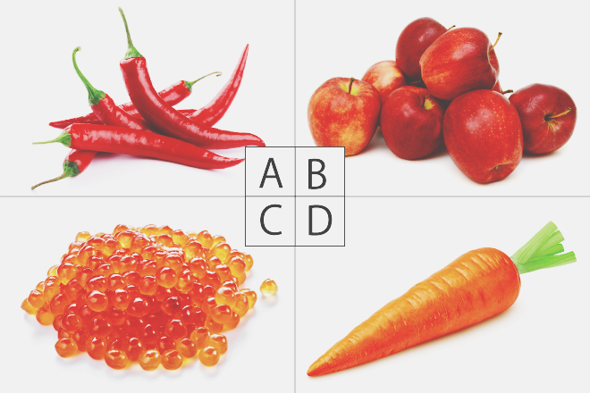 【色×コト占い】「赤い食べもの」といえば? 答えでわかるあなたの活力源