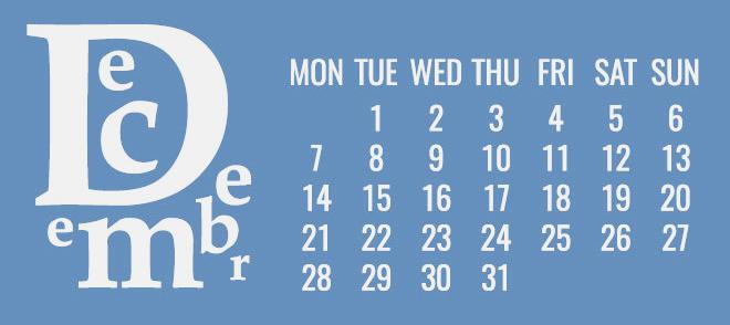 12月の開運日カレンダー