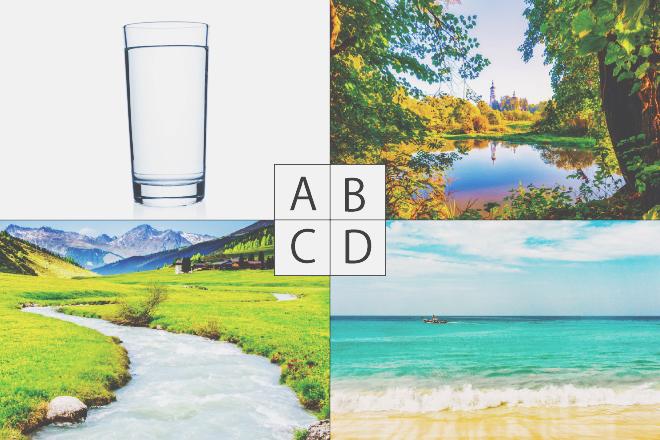 """【心理テスト】""""水""""といえば何を思い浮かべる? 答えでわかる実力を発揮できるとき"""