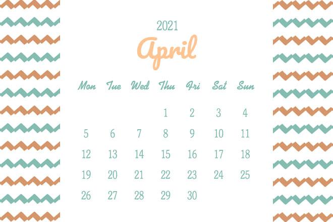 【4月の開運日カレンダー】3日の「大安」は、目標に狙いを定めて幸運をつかんで!