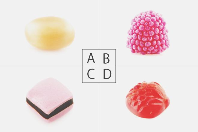 【心理テスト】いらないキャンディーはどれ? 答えでわかる、あなたの意外な才能